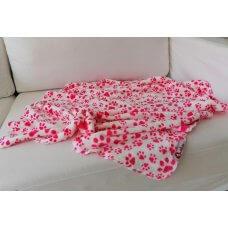 Blanket Pink Paw